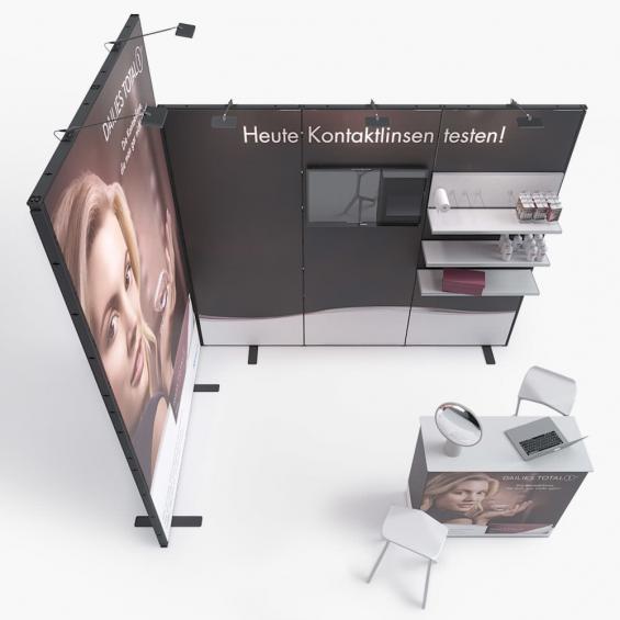 QuickStand Kit 17 Modular Exhibition Stand 3x2 Top