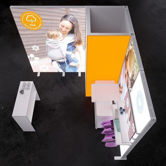 Lumin14 Pro Modular Illuminated Self Build Kit 14 top