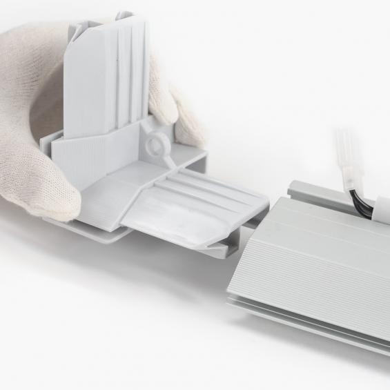Lumin8 Modular Plastic Corner Piece