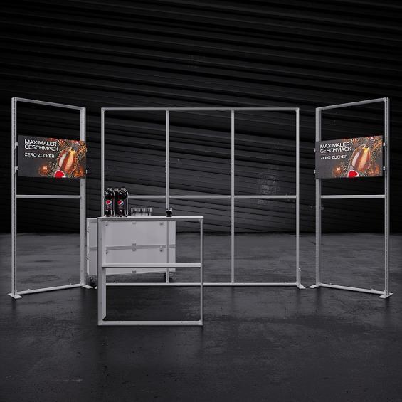 Lumin8 Pro Modular Illuminated Self Build Kit 10 Frame