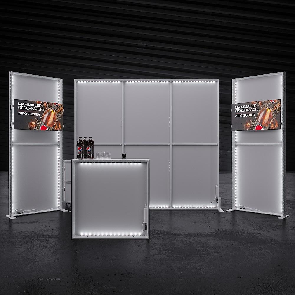 Modular Exhibition Stands Zero : Lumin8 modular kit 10 innov8 displays