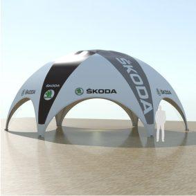 Titan Dome Skoda 10x12 100