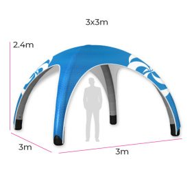 Inflatable Event Tent 11 Fin