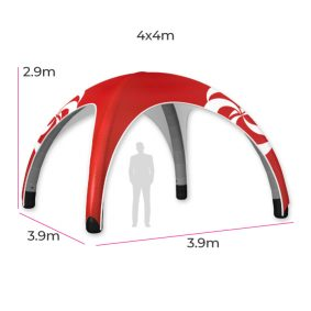 Inflatable Event Tent 12 Fin