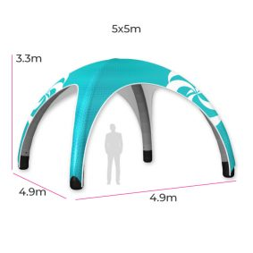 Inflatable Event Tent 13 Fin