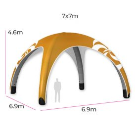 Inflatable Event Tent 15 Fin