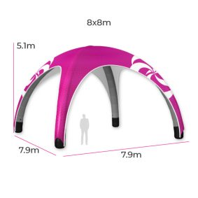 Inflatable Event Tent 16 Fin
