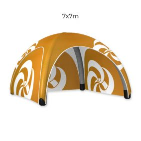 Inflatable Event Tent 21 Fin