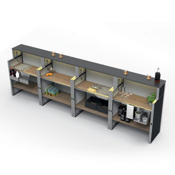 Clever Frame Bar Counter 11
