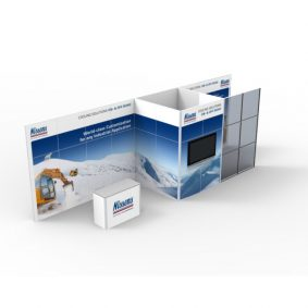 Clever Frame Modular Exhibition Display Stand 1