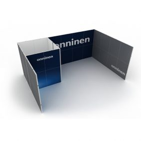 Clever Frame Modular Exhibition Display Stand 13