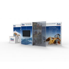 Clever Frame Modular Exhibition Display Stand 2