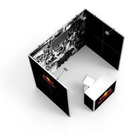 Clever Frame Modular Exhibition Display Stand 22