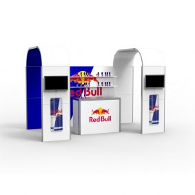 Clever Frame Modular Exhibition Display Stand 27