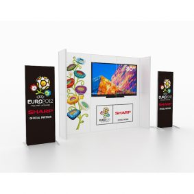 Clever Frame Modular Exhibition Display Stand 28