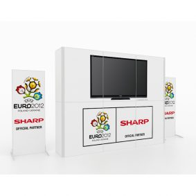 Clever Frame Modular Exhibition Display Stand 30