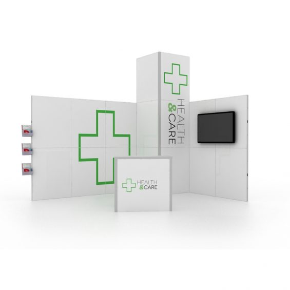 Clever Frame Modular Exhibition Stand 10