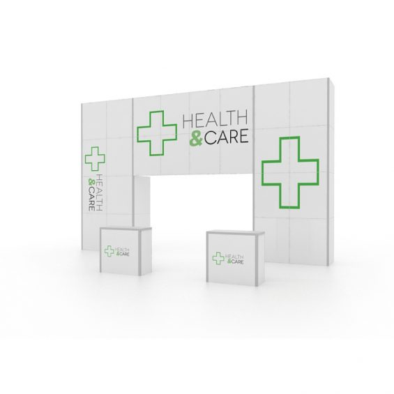 Clever Frame Modular Exhibition Stand 11