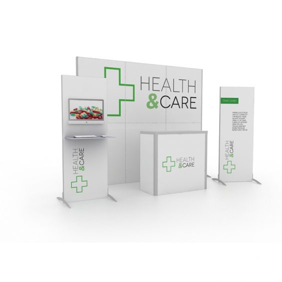 Clever Frame Modular Exhibition Stand 15