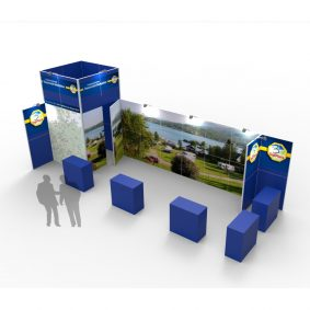 Clever Frame Modular Exhibition Stands 11