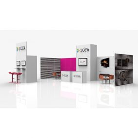Clever Frame Modular Exhibition Stands 14