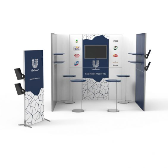 Clever Frame Modular Exhibition Stands 18
