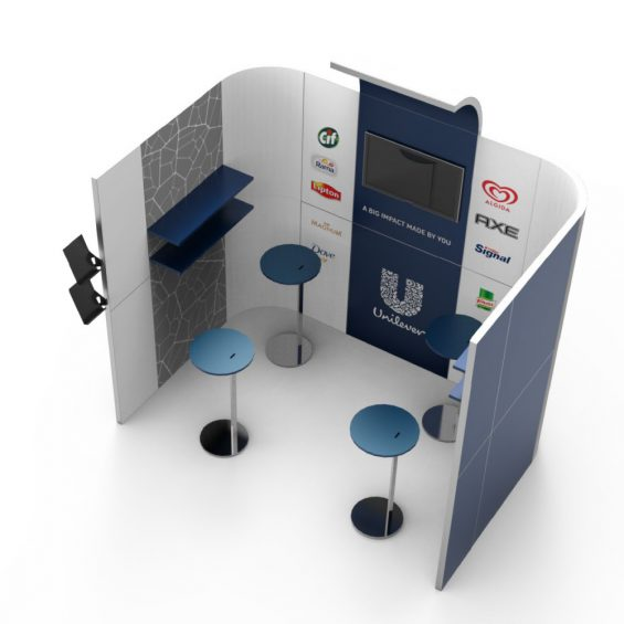 Clever Frame Modular Exhibition Stands 19