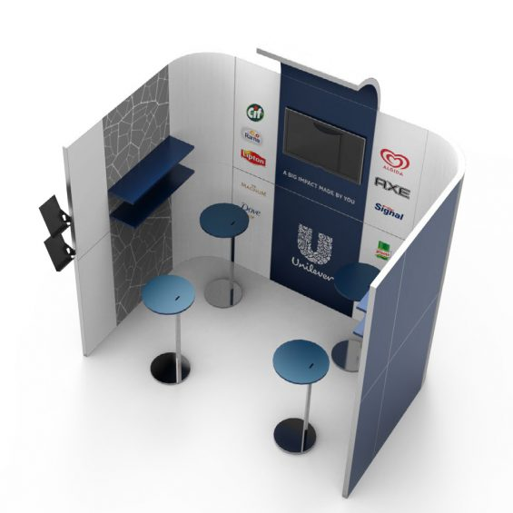 Clever Frame Modular Exhibition Stands 24