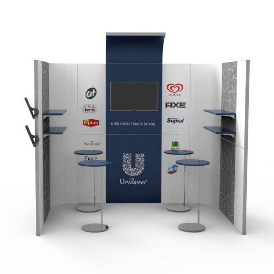 Clever Frame Modular Exhibition Stands 25