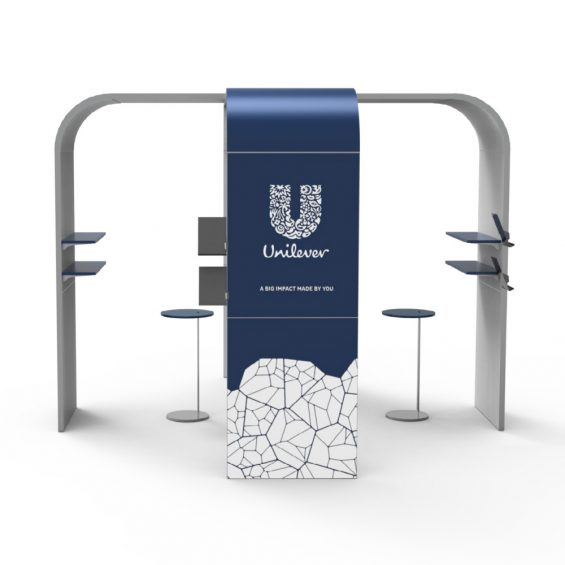 Clever Frame Modular Exhibition Stands 26