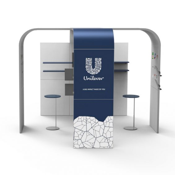 Clever Frame Modular Exhibition Stands 29