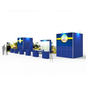 Clever Frame Modular Exhibition Stands 6