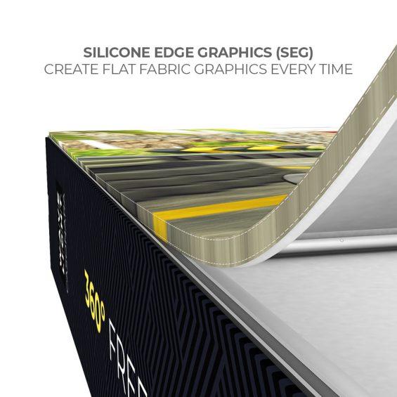 wavelight casonara seg light box display fabric graphics