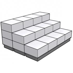 Bike Display 24 Cubes 12 Covers 12 Floors 17 Clips