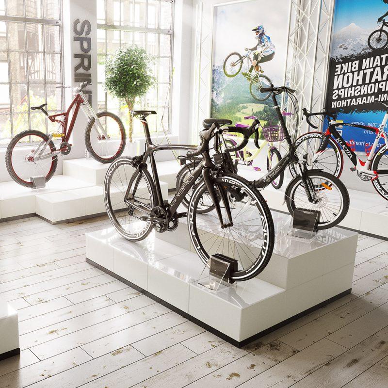 EasyCube Bike Displays