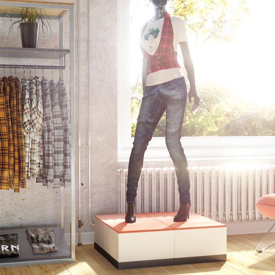 EasyCubes Fashion Display 17